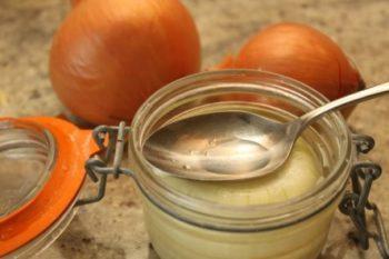 мед с луковым соком для чистки сосудов