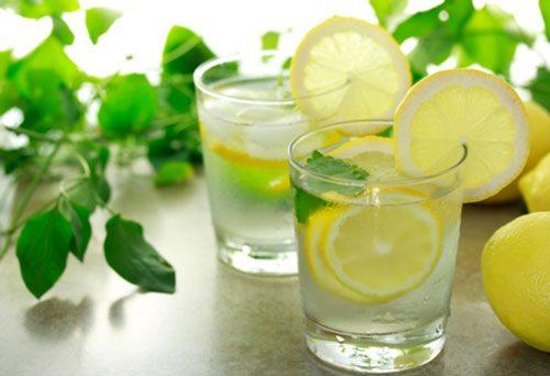 Сода с лимоном для очищения печени
