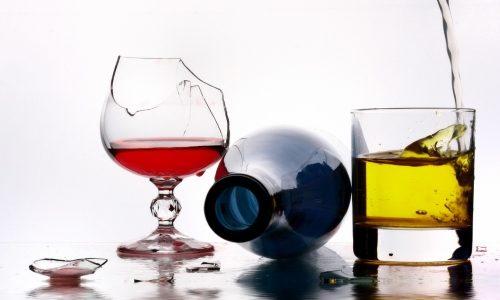 Алкоголь разжижает