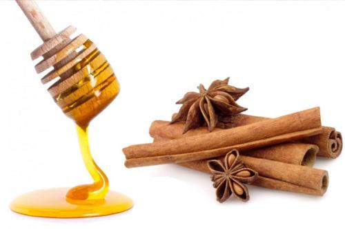 Мед с корицей для чистки печени