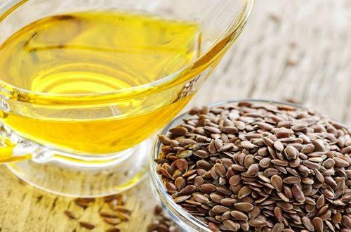 Льняные семена с маслом