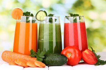 Лечение запора овощными соками