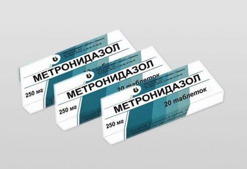 метронидазол от запаха изо рта отзывы