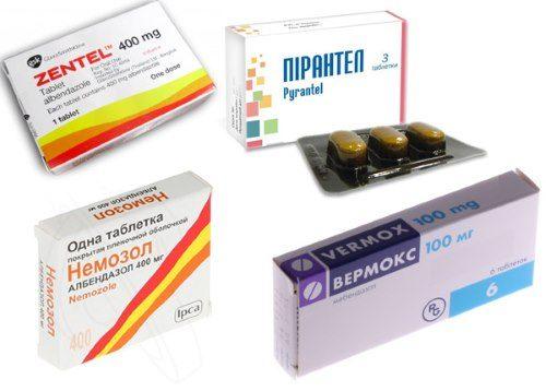 Миниатюра к статье Список противоглистных препаратов широкого спектра действия для человека