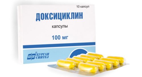 Миниатюра к статье Таблетки Доксициклин: инструкция по применению, показания к применению