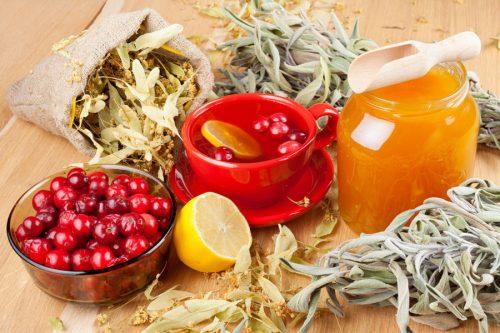 От холестерина клюква чеснок мед рецепт