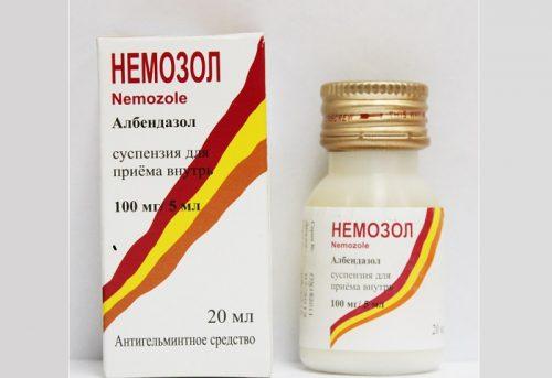 Миниатюра к статье Немозол: инструкция по применению, цена, отзывы паразитологов