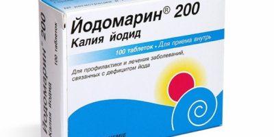 Миниатюра к статье Передозировка Йодомарином: симптомы, последствия