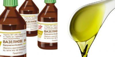 Миниатюра к статье Вазелиновое масло при запорах: способы применения