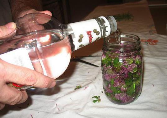 Чистка сосудов водкой