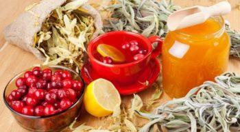 Мед и травы для чистки сосудов