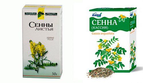 Очищение кишечника сенной