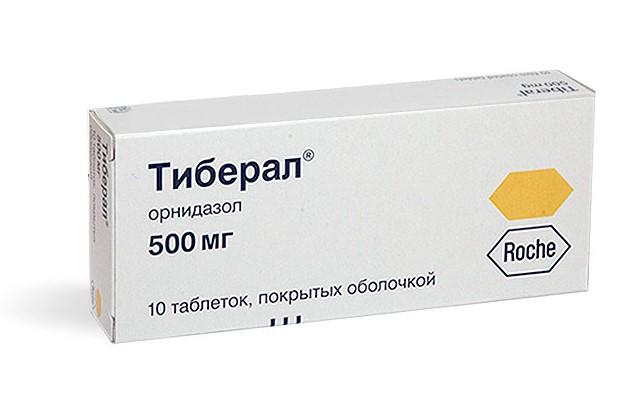 Тиберал антибиотик или нет