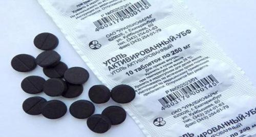 активированный уголь против шлаков и токсинов