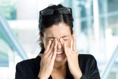 усталость глаз