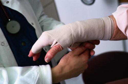 перевязка руки после укуса собаки