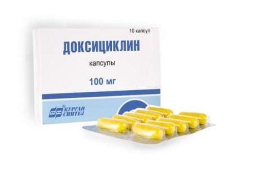 Миниатюра к статье Доксициклина гидрохлорид: рецепт, инструкция по применению, аналоги, отзывы