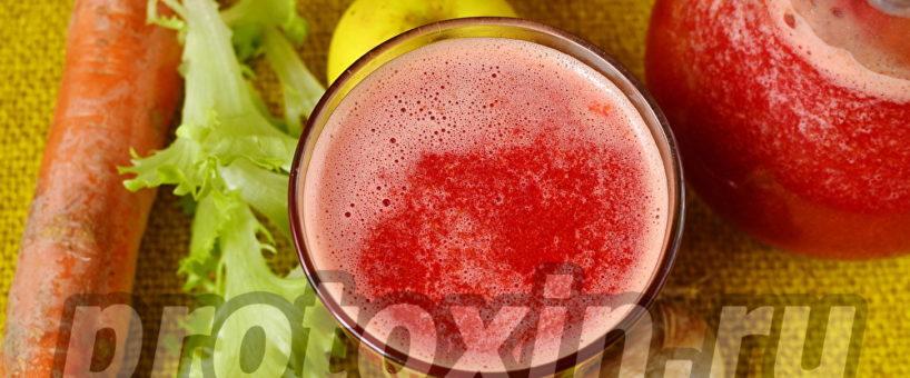 Миниатюра к статье Овощной коктейль для очищения печени