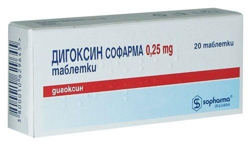 Миниатюра к статье Передозировка Дигоксином — симптомы отравления и лечение