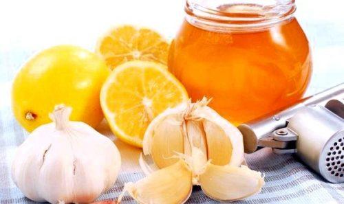 как приготовить смесь из лимона, меда ,чеснока