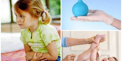Миниатюра к статье Процедуры постановки клизмы ребенку дома